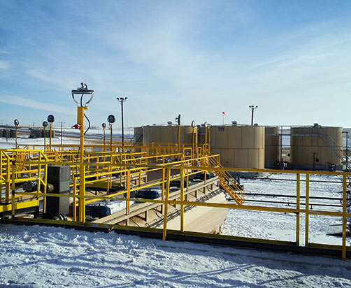 Process, Recovery Disposal Facility & Landfill, Williston, ND